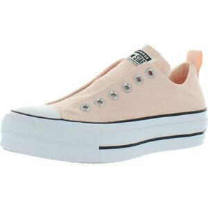 Converse Chuck Taylor All Star Lift Slip Canvas Low Top Fashion Sneaker