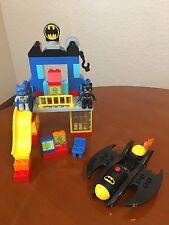 LEGO DUPLO -- BATCAVE ADVENTURE 99 % COMPLETE SET 10545 NO INSTRUCTIONS OR BOX