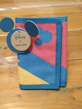 Disney Mickey Mouse (Tri- Fold Velcro Wallet)