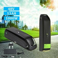 Hailong E-Bike 48V 13Ah Lithium Lion Battery with Charger for 1000W motor Black