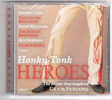 (GQ198) Honky Tonk Heroes, 16 tracks various artists - 2013 - Sealed Uncut CD