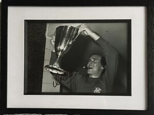 """Colin Stein signed and framed 12x8"""" Rangers photo / COA"""
