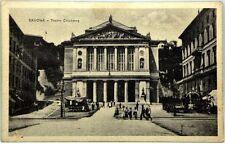 Cartolina Formato Piccolo - Savona - Teatro Chiabrera Non Viaggiata