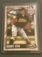 2000 Team Best Barry Zito Rookie Card Auto