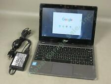 "Acer Chromebook Netbook Laptop Computer C720-2844 11.6"" 1.4GHz 4GB RAM 16GB SSD"