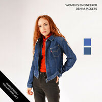 Vintage Levi's Women's Engineered Denim Jacket Various Colours XS-S-M-L-XL