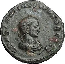 CONSTANTINE II Constantine the Great  son  Ancient Roman Coin Sol Cult i54899