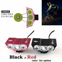 20000Lm LED Headlight XM-L T6 LED Head Front Bicycle Hiking Lamp Bike Headlamp