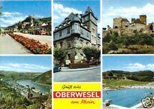 AK, Oberwesel am Rhein, fünf Abb., 1977