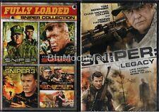 Sniper DVD 1 2 3 4 5 Complete Collection Tom Berenger 5 Movie Set 1-5 Brand NEW