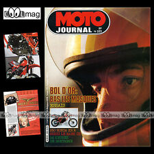 MOTO JOURNAL N°522 HONDA XR 250 R GUZZI 850 LE MANS 3 HESKETH ★ BOL D'OR 1981 ★