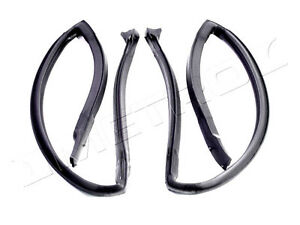 1980-1985 Cadillac Seville new rear door roof rail weatherstrip seals, pair
