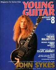 Young Guitar Aug/95 John Sykes Brett Garsed Slash Cheap Trick Neal Schon Megadet