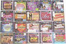 35 KARAOKE BAY CDG CDs w/lyrics on screen WHOLESALE LOT country,oldies,rock,pop+