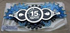 MTG 15th Anniversary Blue Life Counter IN ORIGINAL HOLDER, FREE SHIPPING
