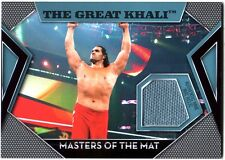 WWE The Great Khali Topps 2011 Masters of the Mat Event Used Relic Card FD30