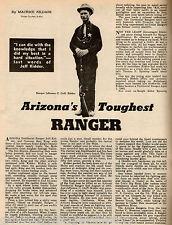 Arizona's Toughest Ranger - Jeff Kidder