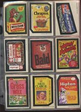 Complete Wacky Packages Trading Card Sets