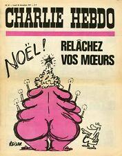 """CHARLIE HEBDO N°57 du 20/12/1971"" REISER : NOËL / RELÂCHEZ VOS MOEURS"