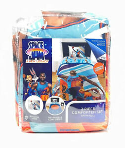 Space Jam A New Legacy LeBron James Reversible 2pc Comforter Set Twin Full Size