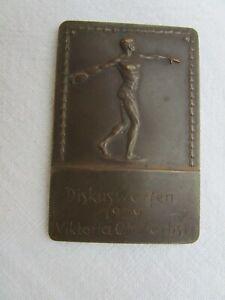 Sportplakette Bronze/Kupfer