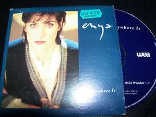 Enya Anywhere Is Australian Card Sleeve CD Single