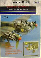 Aires 1/48 Junkers Ju88 A-4 Detail Set for Revell kit # 4138