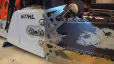 Stihl MS660 dog dawg spike STEEL front cover side bar skeletonize custom laser