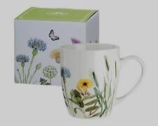 Gilde Tasse wild Flowers 49452 Kaffeetasse Teetasse Blumen H10 2ø12 Porzellan