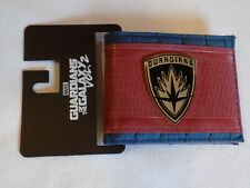 New Marvel Comics Guardians of the Galaxy Vol. 2 Red and Blue Bi-Fold Wallet