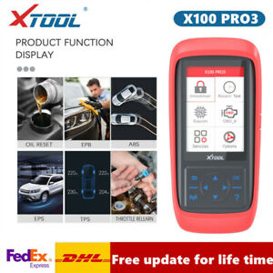 XTOOL X100 PRO3 Car Programmer OBD2 EPB ABS TPS Special Functions Code Reader