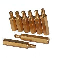 M3 Hex Brass Spacer Screw Pcb Motherboard Standoff Female Male Screws