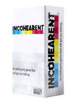 Exclusive Incohearent Adult Party Game Fun Entertainment Adventure