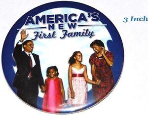 2009 BARACK OBAMA INAUGURATION campaign pin pinback button political president