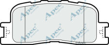 PAD1471 GENUINE APEC REAR BRAKE PADS FOR TOYOTA CAMRY