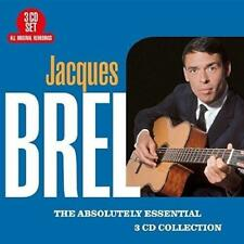 Jacques Brel - The Absolutely Essential 3 CD Collection (NEW 3CD)