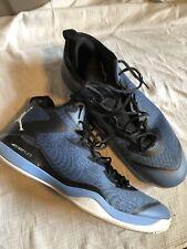 Nike Air Jordan Blue Black Size 15 Shoes Flight plate