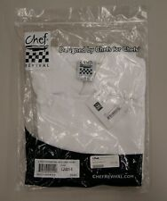 Chef Revival Ladies Poly Cotton Traditional Chef Jacket, Cloth Knot, Sml, L-2991