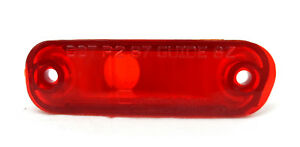New Genuine GM OEM Side Marker Light 5974620, Red, LH Front or RH Rear