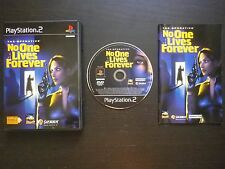 THE OPERATIVE NO ONE LIVES FOREVER : JEU Sony PLAYSTATION 2 PS2 (Sierra COMPLET)