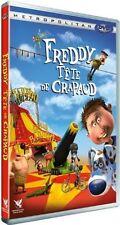 "DVD NEUF ""FREDDY TETE DE CRAPAUD"" dessin anime"