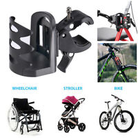 Universal Beverage Drink Cup Holder Fit Wheelchair Walker Bike Stroller