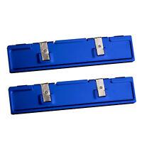 2pcs Memory Heat Spreader Heatsink Clip Aluminum for Desktop DDR4 DDR3 DDR2 RAM