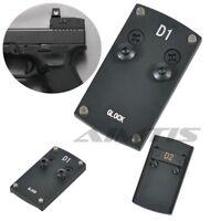 Mount Plate For Glock VORTEX VENOM & VIPER Fit Micro Red Dot Sight Pistol