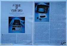"""""""A Mind of Your Own"""" 1978 Computers Article with Vintage Photos of Early Models"""