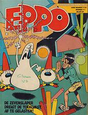STRIPWEEKBLAD EPPO 1978 nr. 16 - AGENT 327 (COVER)/DE PARTIZANEN/ROEL DIJKSTRA