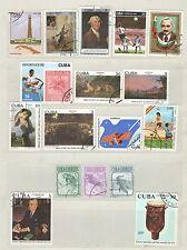 q7934 - CUBA - 1981 - LOTTI TEMATICI USATI N°2310/81 - VEDI FOTO