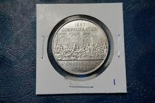 A-113 1982 Canada Dollar $1 Voyageur Confederation Canadian RCM Constitution