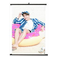 KPOP Bangtan Boys J-HOPE Hanging Painting Art Painting Wall Scroll Poster