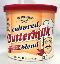 The Saco Pantry Cultured Buttermilk Blend for Cooking & Baking 12 oz
